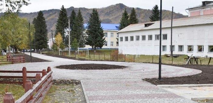 Парк культуры и отдыха благоустроили в Шебалино