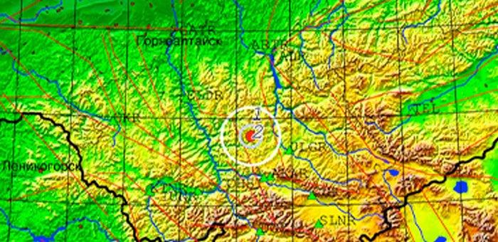 Небольшое землетрясение произошло в Онгудайском районе