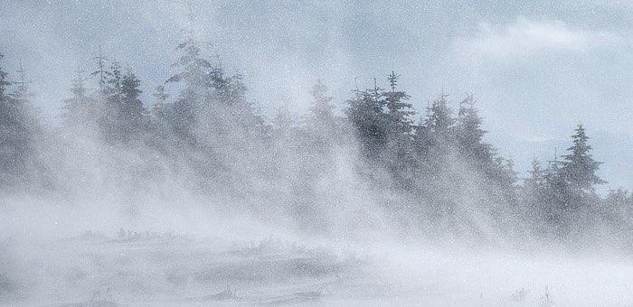 Штормовое предупреждение: в Республике Алтай ожидается сильный ветер
