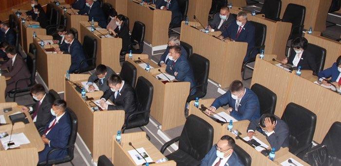 Очередная сессия Госсобрания пройдет 17 ноября