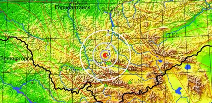 В Онгудайском районе произошло землетрясение