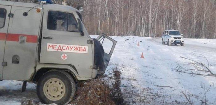 В Усть-Канском районе погиб водитель автомобиля УАЗ