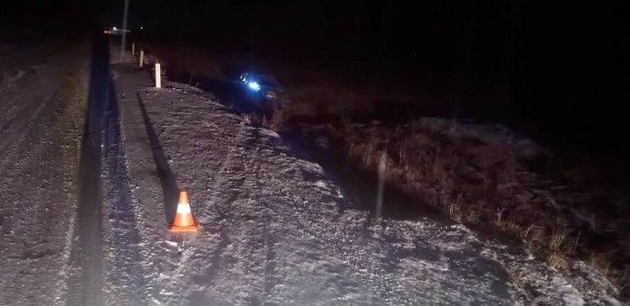 Нетрезвый водитель не справился с управлением ночью на Чуйском тракте