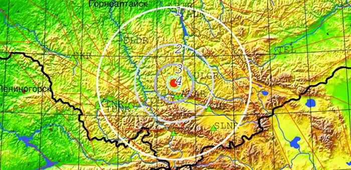 Очередное землетрясение произошло в Республике Алтай