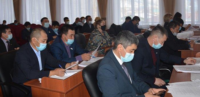 В Онгудае прошла сессия районного совета депутатов