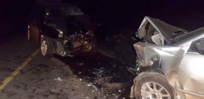 На Чуйском тракте столкнулись автомобили, погиб человек