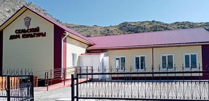 В следующем году в Республике Алтай капитально отремонтируют три дома культуры