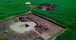 В Катандинской долине найдено погребение афанасьевской культуры