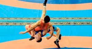 Спортсмены с Алтая стали призерами чемпионата Сибири по борьбе