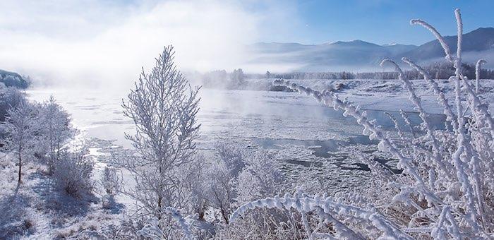 Морозная погода без осадков ожидается в республике в начале декабря
