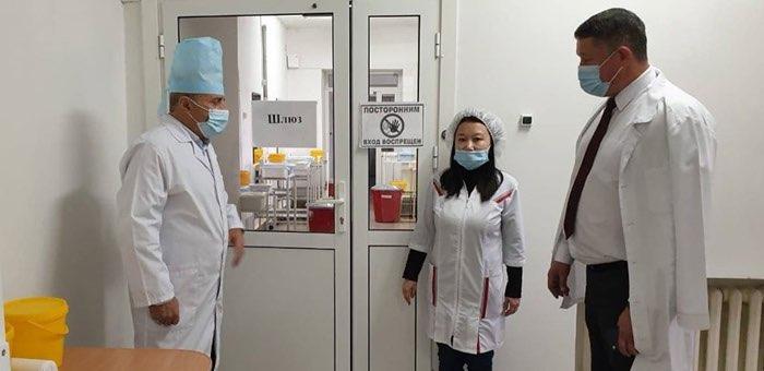 В Чое открылся «ковидный» госпиталь
