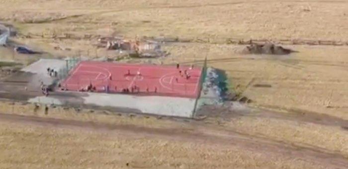 В селах Катунь и Мараловодка благоустроены спортивная и детская площадки