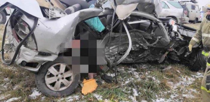 Житель Республики Алтай погиб в ДТП в Новосибирской области