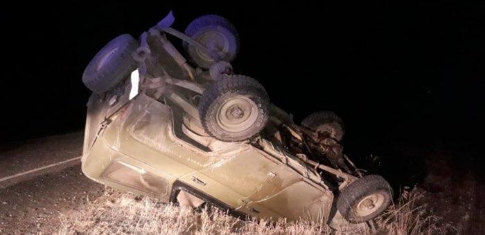 Пьяный водитель устроил аварию на Чуйском тракте