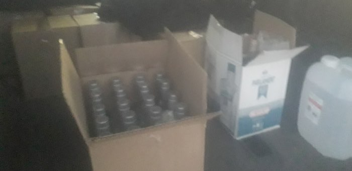 520 бутылок водки без документов «нечаянно» привез горожанин в Кош-Агачский район