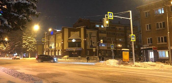 Светофорная реформа продолжается: 10 декабря начнет работать светофор у библиотеки
