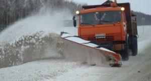 Региональные дорожники успешно справляются с последствиями снегопада