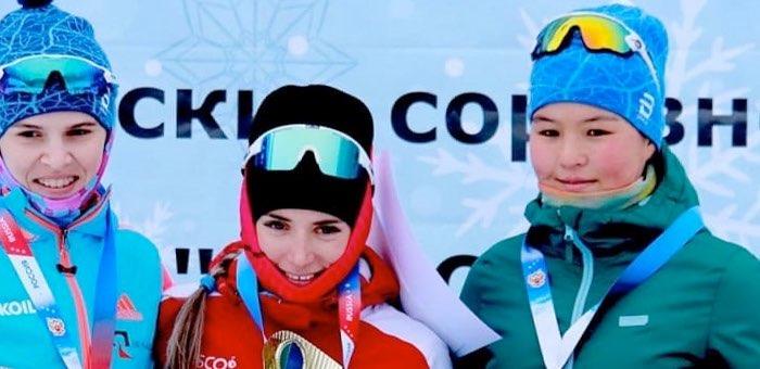 Арина Кусургашева стала бронзовым призером «Кубка Сибири» по лыжным гонкам