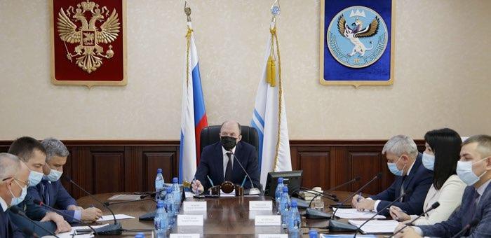 Олег Хорохордин провел заседание оперштаба по коронавирусу