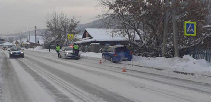 25-летний водитель сбил на тротуаре ребенка