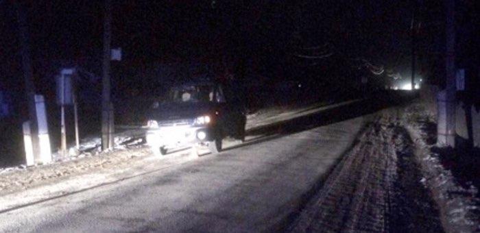 Нетрезвый житель Узнези вышел на Чемальский тракт и попал под машину