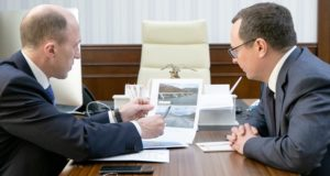 Олег Хорохордин встретился с руководителем Федерального дорожного агентства