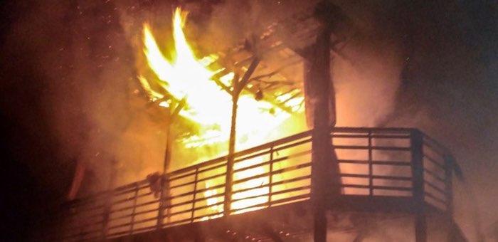 Во время сильных морозов в республике произошло десять пожаров, два человека погибли