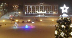 Снег и слабые метели ожидаются в новогоднюю ночь в Горном Алтае