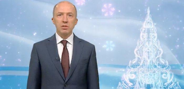 Олег Хорохордин поздравил жителей Республики Алтай с Новым годом