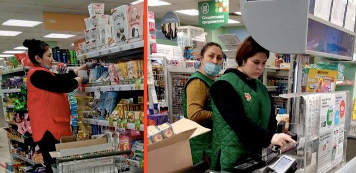«Пятерочку» оштрафовали на 100 тыс. за отсутствие масок у продавцов