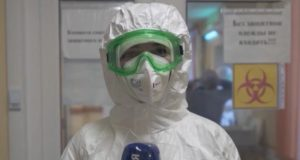 Репортаж из «красной зоны» ковидного госпиталя