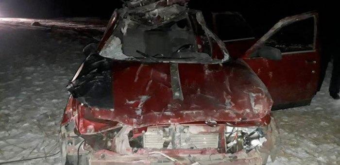 18-летний водитель получил тяжелые травмы из-за выскочившего на дорогу коня