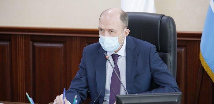 Олег Хорохордин провел заседание оперативного штаба по борьбе с коронавирусом
