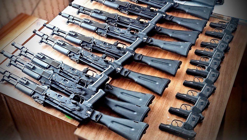 Новые карабины и пистолеты получил Алтайский заповедник