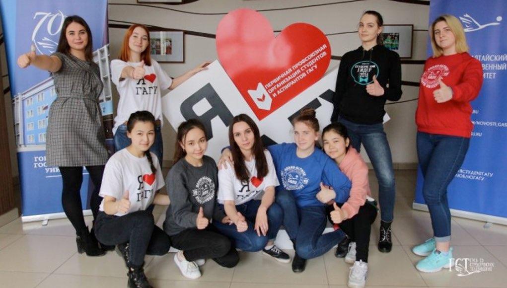 Агитационный десант ГАГУ одержал победу во всероссийском конкурсе