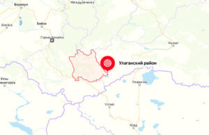 Небольшое землетрясение произошло в Улаганском районе