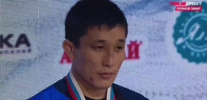 Алексей Тадыкин стал чемпионом России по греко-римской борьбе