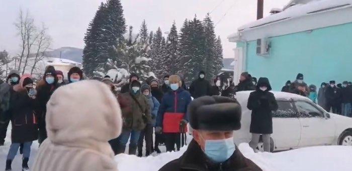 В Горно-Алтайске состоялся митинг в поддержку Алексея Навального