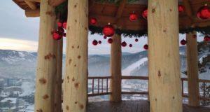 Новогодние праздники на Тугае: жители и гости Горно-Алтайска могут посетить городской панорамный парквй