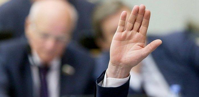 Интрига нарастает. Вопрос о выборах спикера в повестку дня сессии Госсобрания пока не внесен