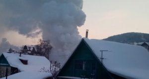 За первые дни нового года в Горно-Алтайске произошло три пожара