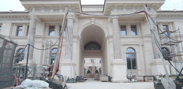 Обнародовано видео изнутри дворца в Геленджике