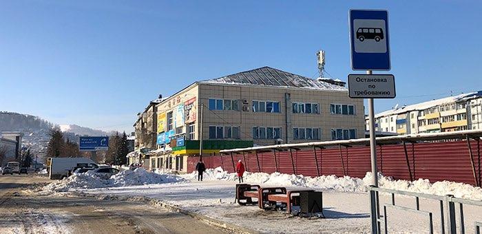 С 1 февраля в районе ЦУМа начнет работать автобусная остановка по требованию