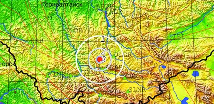 В Онгудайском районе произошло небольшое землетрясение