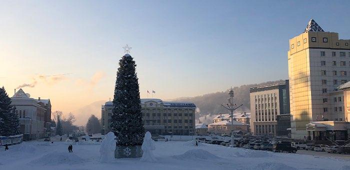 Потепление и снегопад на Алтае ожидаются в воскресенье, 10 января