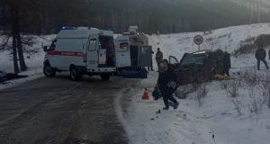 Жесткое ДТП в Усть-Коксинском районе: четыре человека получили травмы