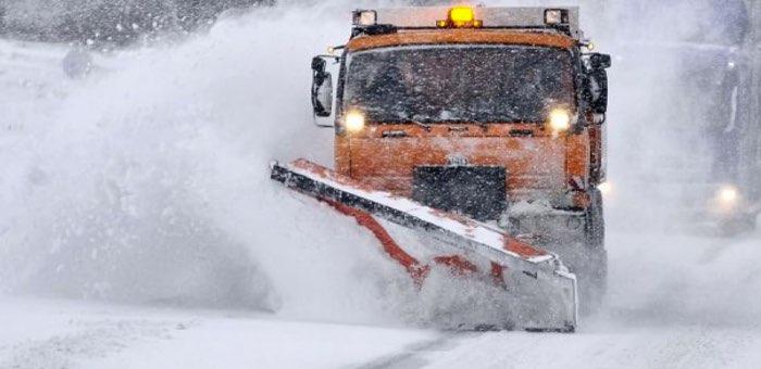 118 машин устраняют последствия снегопада на федеральной трассе в Республике Алтай