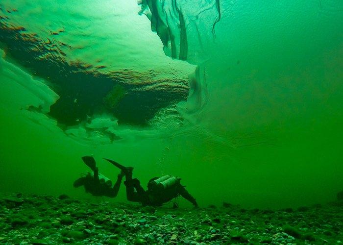 Снежура. Удивительное явление удалось понаблюдать и сфотографировать на Телецком озере