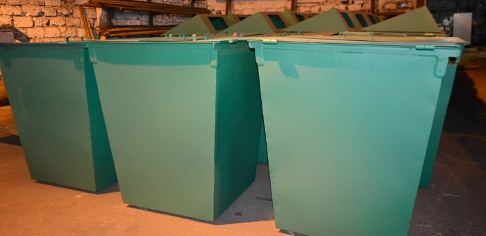 Заключенные изготовят мусорные контейнеры на 5 миллионов рублей