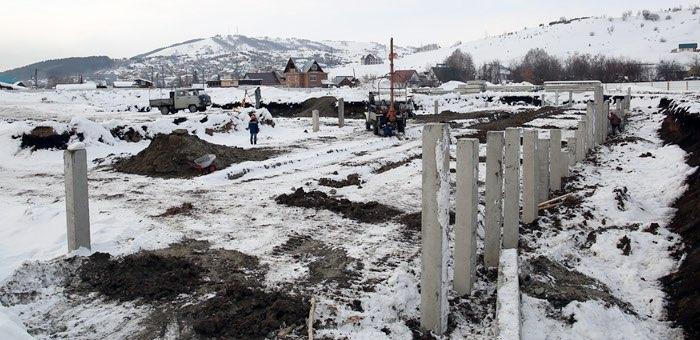Самый большой в Горно-Алтайске детсад построят к концу года